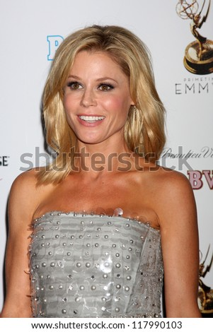 LOS ANGELES - SEP 21:  Julie Bowen arrives at the Primetime Emmys Performers Nominee Reception at Spectra by Wolfgang Puck on September 21, 2012 in Los Angeles, CA - stock photo