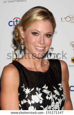 LOS ANGELES - SEP 20:  Julie Bowen at the Emmys Performers Nominee Reception at  Pacific Design Center on September 20, 2013 in West Hollywood, CA - stock photo
