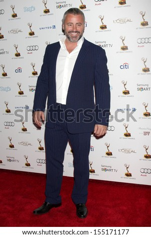 LOS ANGELES - SEP 20:  Matt LeBlanc at the Emmys Performers Nominee Reception at  Pacific Design Center on September 20, 2013 in West Hollywood, CA - stock photo