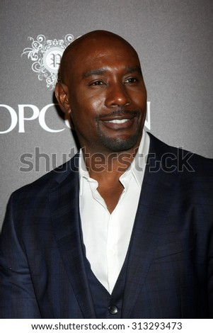 "LOS ANGELES - SEP 2:  Morris Chestnut at the ""The Perfect Guy"" LA Premiere at the Writer's Guild Theater on September 2, 2015 in Beverly Hills, CA - stock photo"