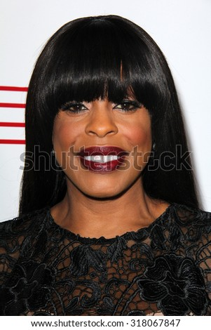 LOS ANGELES - SEP 17:  Niecy Nash at the Audi Celebrates Emmys Week 2015 at the Cecconi's on September 17, 2015 in West Hollywood, CA - stock photo