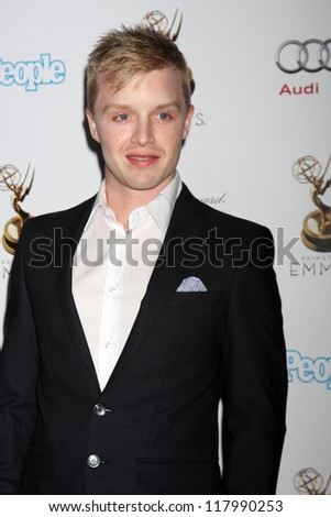 LOS ANGELES - SEP 21:  Noel Fisher arrives at the Primetime Emmys Performers Nominee Reception at Spectra by Wolfgang Puck on September 21, 2012 in Los Angeles, CA - stock photo
