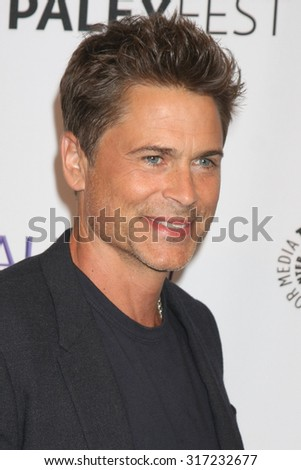 LOS ANGELES - SEP 15:  Rob Lowe at the PaleyFest 2015 Fall TV Preview - FOX at the Paley Center For Media on September 15, 2015 in Beverly Hills, CA - stock photo