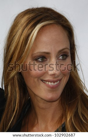LOS ANGELES - SEPT 25: Kim Raver at the IRIS, A Journey Through the World of Cinema by Cirque du Soleil premiere at the Kodak Theater on September 25, 2011  in Los Angeles, California - stock photo