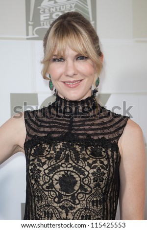 LOS ANGELES - SEPT 23: Lily Rabe attends the Twentieth Century FOX Television and FX 2012 Post Emmy party at Soleto on September 23, 2012 in Los Angeles, California. - stock photo