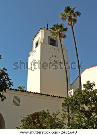 Los Angeles Union Station - stock photo