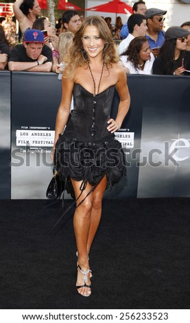 "LOS ANGELES, USA - JUNE 24: Edyta Sliwinska at the Los Angeles Premiere of ""The Twilight Saga: Eclipse"" held at the Nokia LA Live Theater in Los Angeles, USA on June 24, 2010. - stock photo"