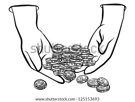 Stock Images similar to ID 124714321 - putting coins money ...