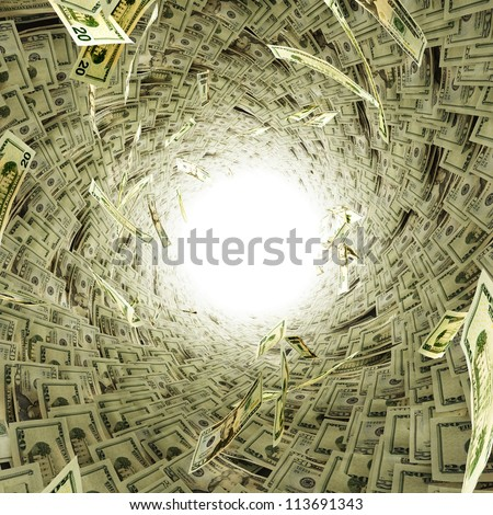 Lots of money - stock photo