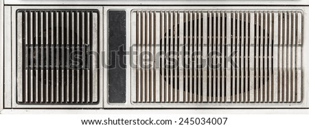 loudspeaker on old television ,Classic background - stock photo