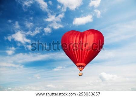 Love balloon  - stock photo