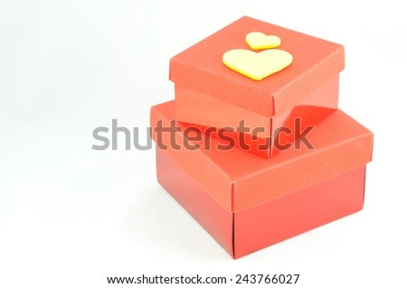 love box valentine concept - stock photo