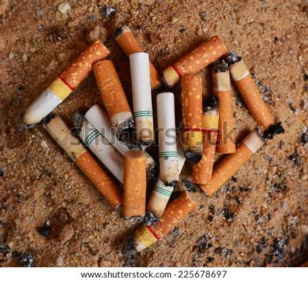 Love cigarettes - stock photo