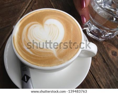 Love Coffee - stock photo