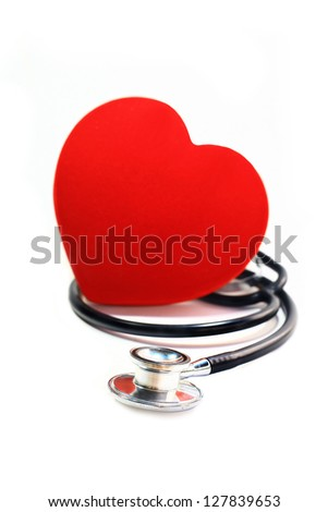 love heart - stock photo