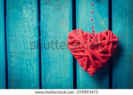 Love, hearts, heart. - stock photo