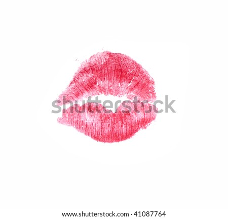 love kiss - stock photo