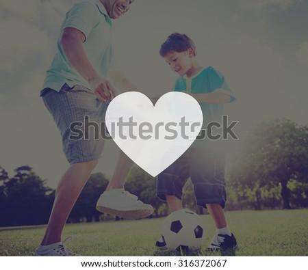 Love Like Passion Romantic Affection Devotion Joy Life Concept - stock photo