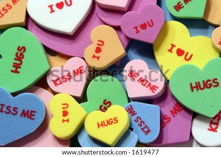 Love Notes - stock photo