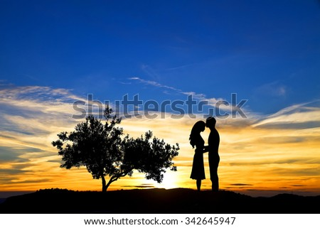 love under the sun - stock photo