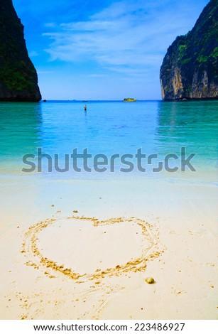 Love Vacation Natural Palace  - stock photo