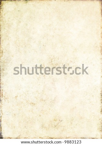 lovely light brown background image with the texture of old paper - stock photo