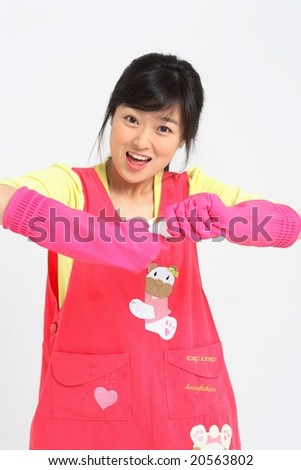 Lovely Woman - stock photo