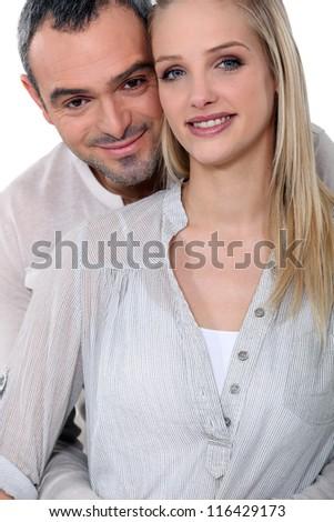 Loving couple - stock photo
