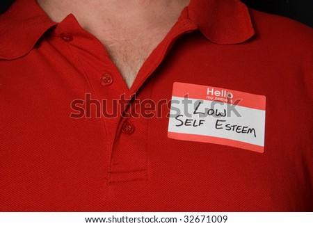 Low Self Esteem - stock photo