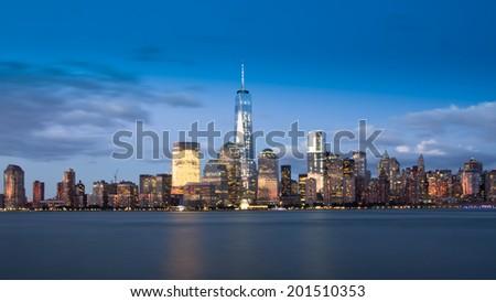 Lower Manhattan  - stock photo
