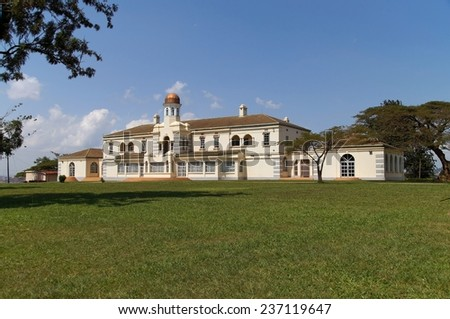 Lubiri (or Mengo Palace) in Kampala, Uganda  - stock photo