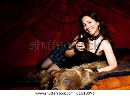 Bear Rug Stock Photos Images Amp Pictures Shutterstock