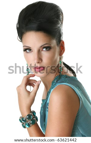 luxury beauty - stock photo