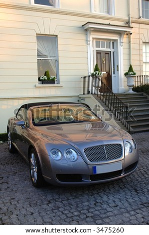 Luxury Bentley - stock photo
