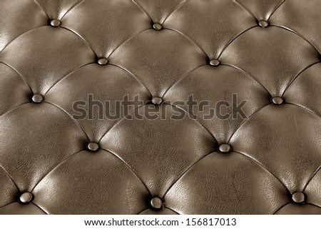 Luxury brown leather. - stock photo