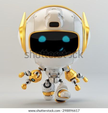 Luxury doggy robot - stock photo