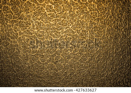 Luxury goods comes with exclusive packaging boxes / Luxury texture background / The highlighted bright spot helps enhanced the exclusivity of the contents - stock photo