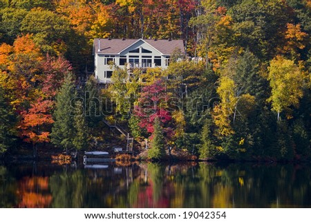 luxury home - stock photo