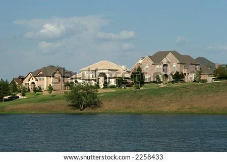 Luxury houses - stock photo