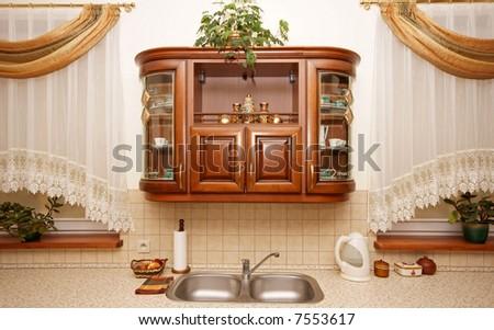 luxury interior - stock photo