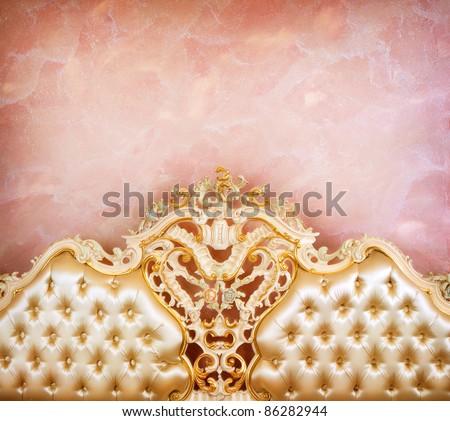 Luxury Interior detail - stock photo
