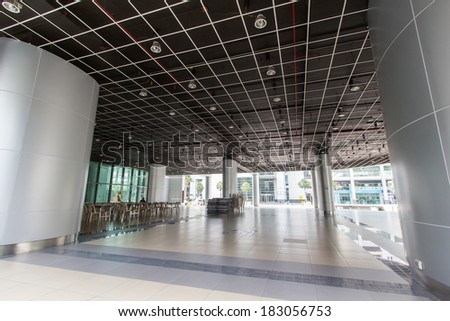 Luxury office buildings, indoor - stock photo