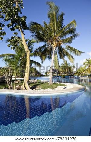 Luxury Resort - stock photo