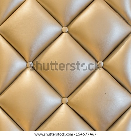 luxury vintage style fabric with button texture from sofa - stock photo