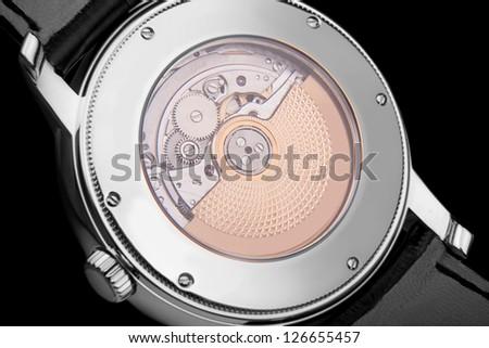 luxury watch - stock photo