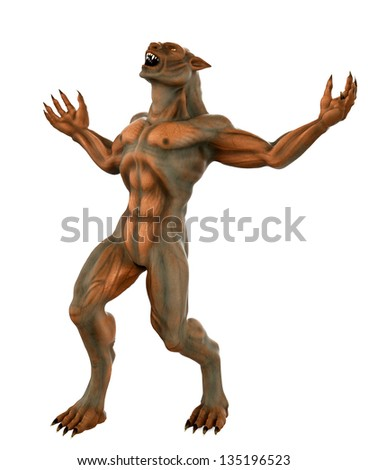 lycan how - stock photo