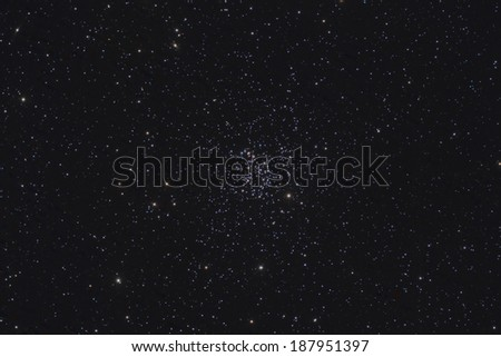 M67, an Open Star Cluster in the Constellation Cancer - stock photo