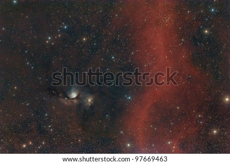 M78 and Barnard's Loop - stock photo