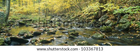 Macedonia Brook State Park, Connecticut - stock photo