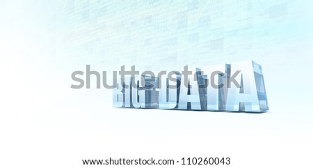 Machine Generated Data - stock photo